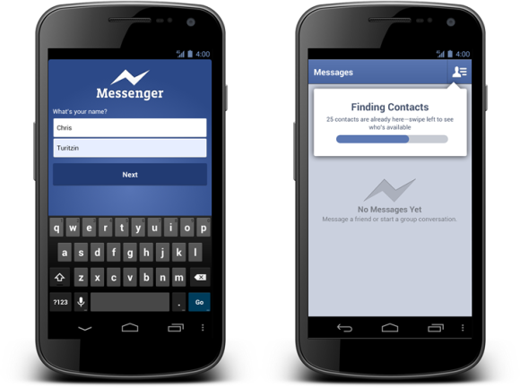 Mobile Facebook Messenger
