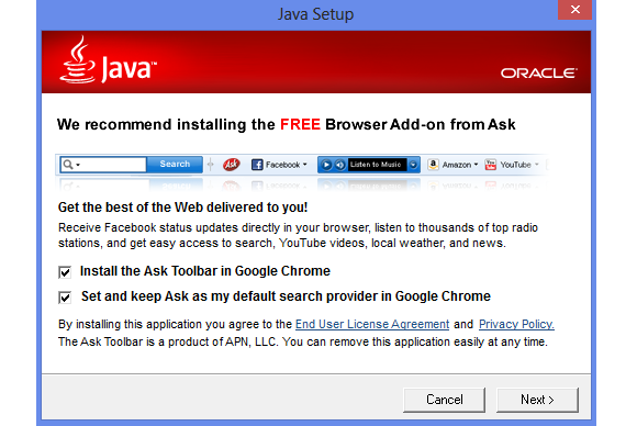 Microsoft's good deed for the day: browser-hijacking Ask Toolbar gets the banhammer on Windows