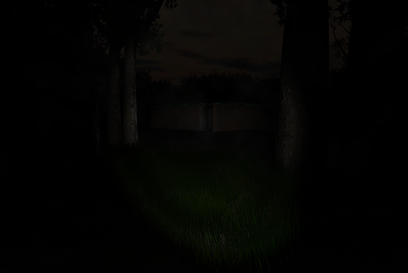 Slenderman The Eight Pages dim light screenshot