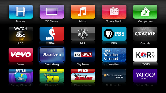 apple tv new channels