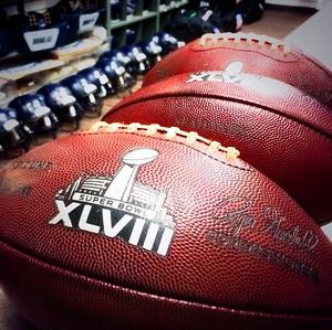 superbowl seahawks game ball