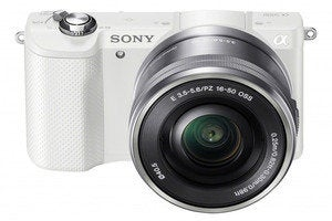 sony a5000 wht frontangle