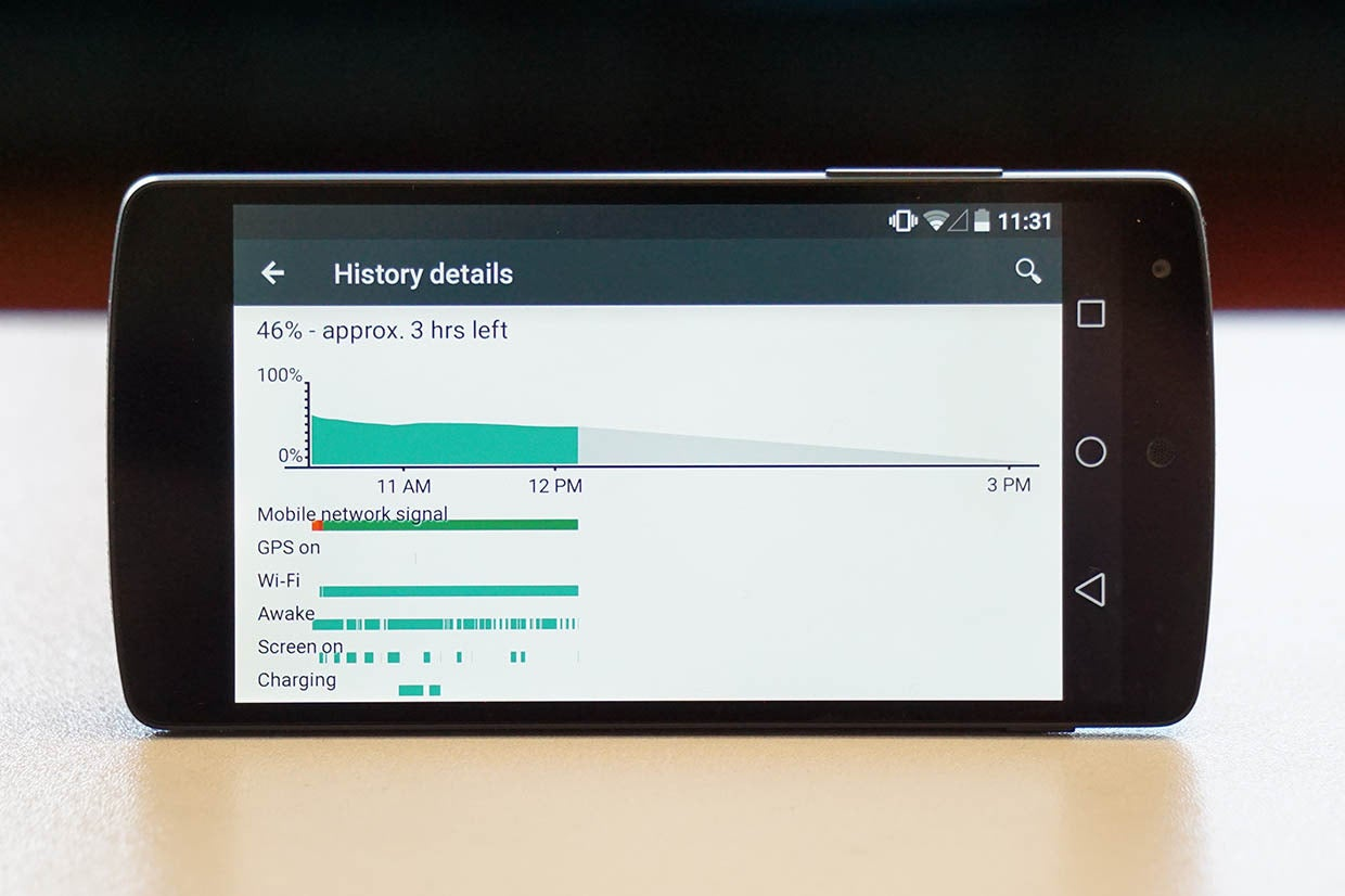 android l batterylife primary