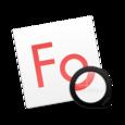 fonts mac icon
