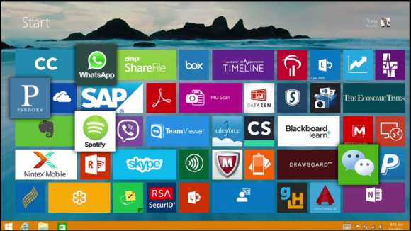 Microsoft WPC Windows 8 productivity apps