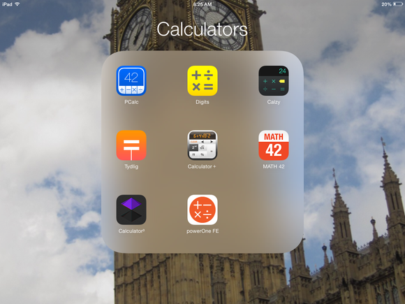 Best iOS calculators