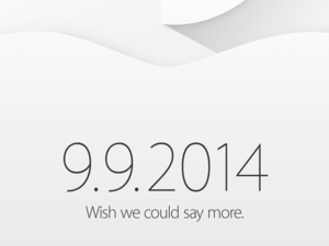 Apple Sept. 9 invitation