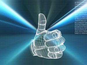big data thumbs up