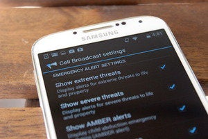 emergency alerts android