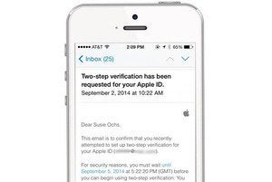 icloud authentication blurred