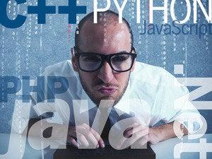 C++ Java PHP .Net Python JavaScript coder programmer