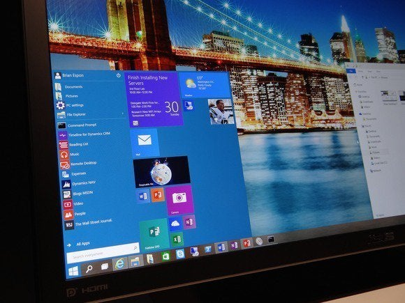 windows10 start menu on screen 100466241 large