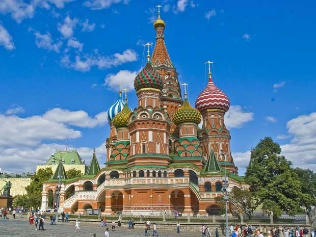 St Basils Cathedral, Moscow Russia