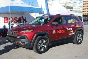bosch traffic jam safety car