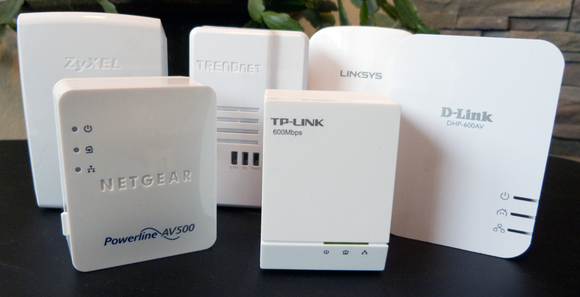 HomePlug Ethernet adapters