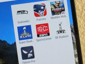 super bowl android apps