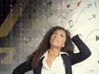 businesswoman looking confused with techie background