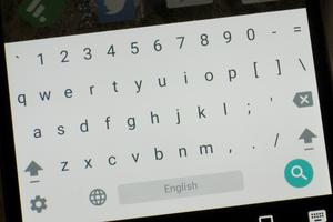 google keyboard numbers 1