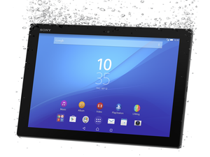xperia z4 tablet black water