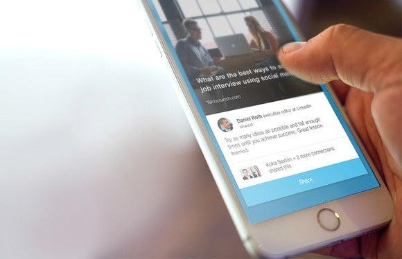 LinkedIn Elevate Mobile