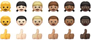 emoji diverse