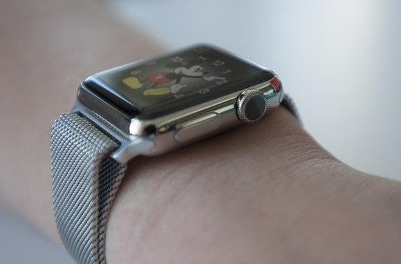 apple watch crown onwrist