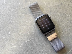 apple watch passcode