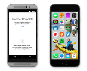 ios9 move to ios from android
