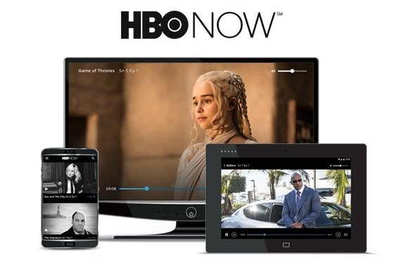 HBO NOW on phone or Tablet