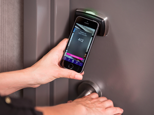 starwood mobile checkin keyless scanning