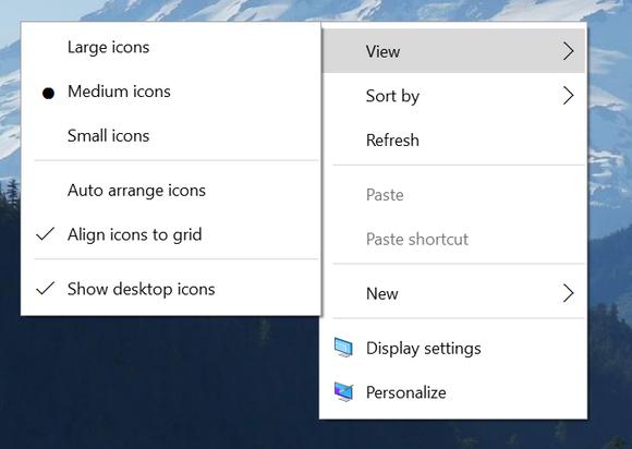 windows 10 context menus