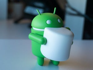 android marshmallow figurine