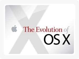 The Evolution of Mac OS X [cover]