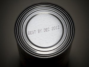 expiration date can