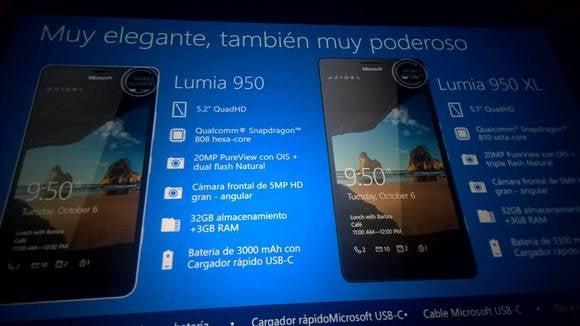 lumia 950xl lumia 950 slide Microsoft