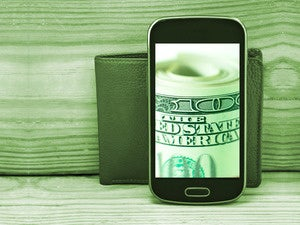mobile payment wallet money smartphone