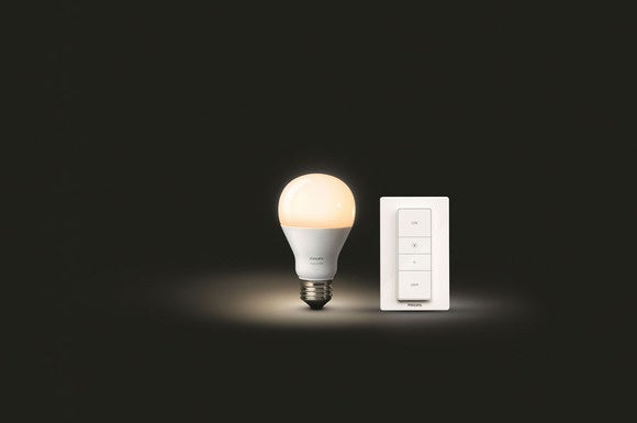 philips hue wireless dimming kit review control your hue led lights. Black Bedroom Furniture Sets. Home Design Ideas
