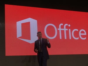 Microsoft Office at Cebit