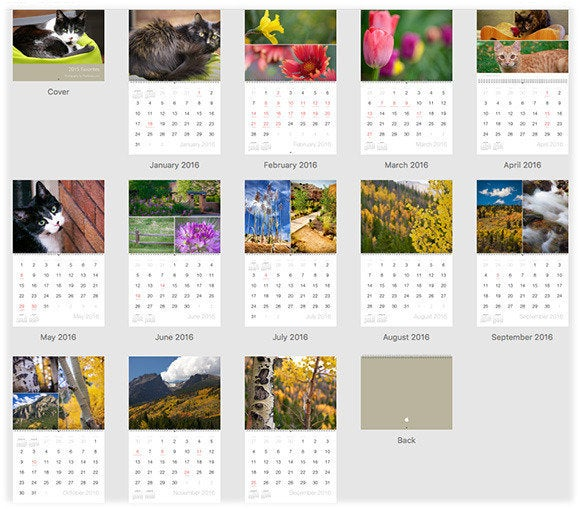 How to create a custom calendar in photos for mac macworld for Create custom planner