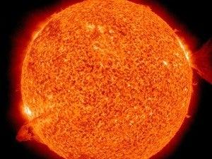 solar flare 620