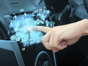 car touchscreen ts