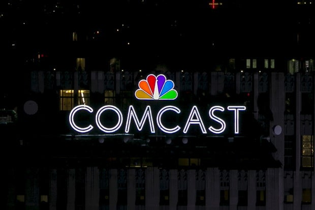 comcast logo nyc 30 rock