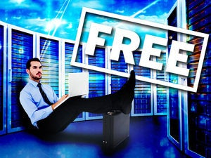 free servers worker man data center admin