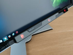 tobii eyeX leftside