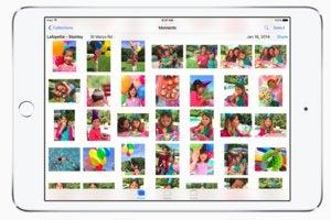 icloud photo library ipad