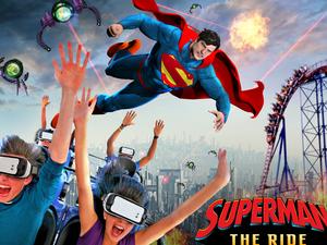 superman-VR rollercoaster
