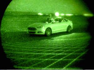 Ford LiDAR self-driving car