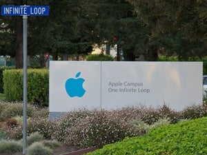 apple campus headquarters stock