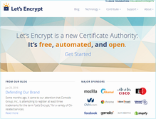 Let's Encrypt accuses Comodo of trying to swipe its brand