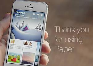 facebook paper primary